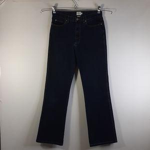 Calvin Klein Jeans Straight Leg Dark Blue Size 6